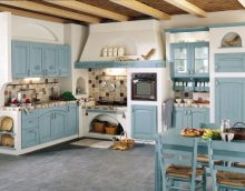Provence style kitchen interior - the main aspects of decoration and decoration