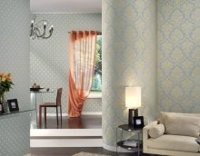 Wallpaper companions in the interior: the secrets of combining